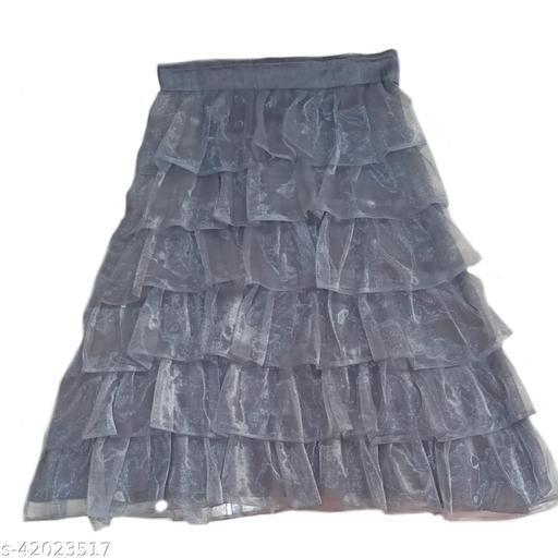 kids grey skirt