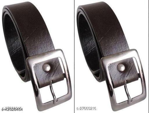 Arrival Combo Mens Belt (Pack of 2)