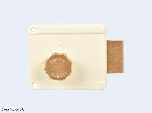 Night Latch Main door lock Sufrace finsish (IV) Ivory