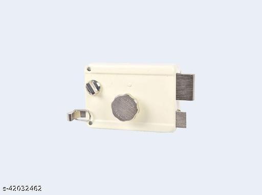 Night Latch Main door lock Sufrace finsish (IN) Ivory Nickel