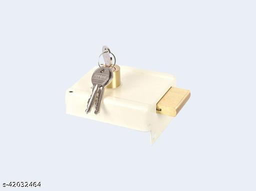 Night Latch Main door lock Sufrace finsish (NS) Nickel silver