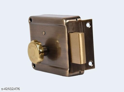 Night Latch Main door lock Sufrace finsish (AB) Antique Brass