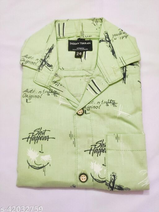 Tinkle Funky Boys Shirts