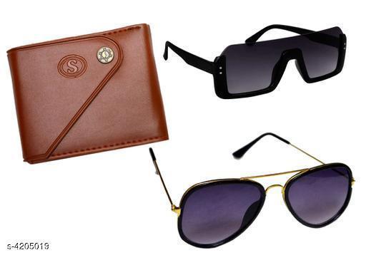 Fashionable Unique Unisex Sunglasses Combo