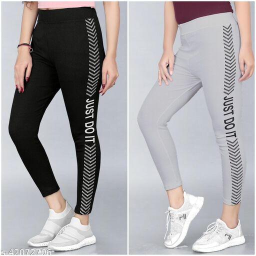 Trendy Womens Jegggings Pack Of 2(Size:-26 To 36)