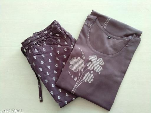 Girbana woman rayon printed kurta and pant