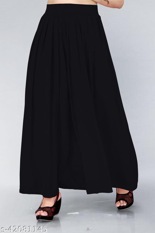 Trendy Womens Plazzo(Size:-26 to 36)
