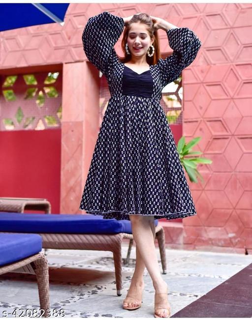 Manjula Butter Silk Stylish Dresses