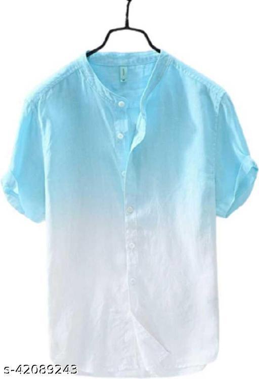 Fabulous Man Stylish Look Printed Rayon Shirt