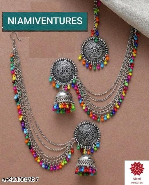 Shimmering Glittering Women jewellery set