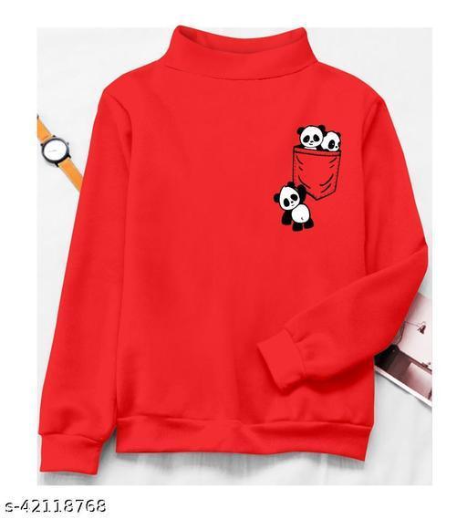 Women Cotton Regular Fit Casual  Sweatshirts