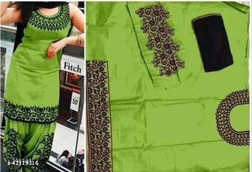 R PATIYALA GREEN Suit