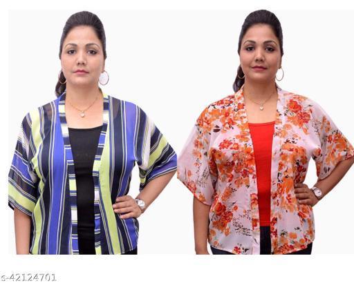 Trendy Feminine Women Capes, Shrugs & Ponchos