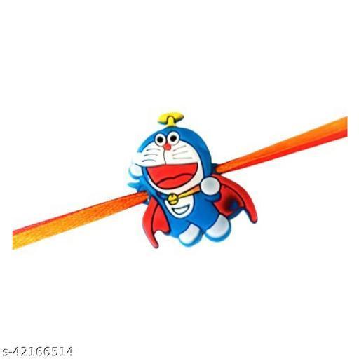 Set of 1 Cartoon Character Doremon Rakhi for Brother Kids, Boys, Girls, Best Rakhi Gift for Kids Rakhi for Kids Brother