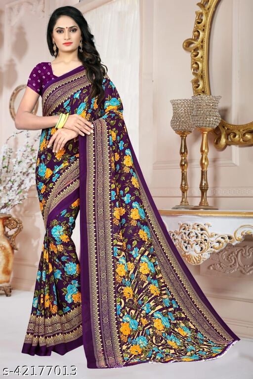 Sanvi Printed Saree for Womens
