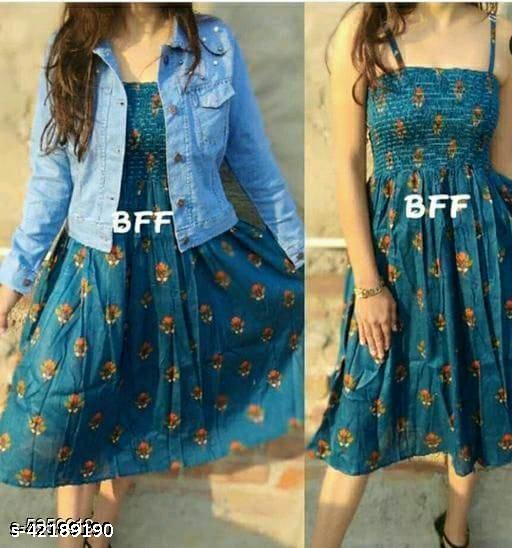 Women Trendy and Fashionable Midi Dress