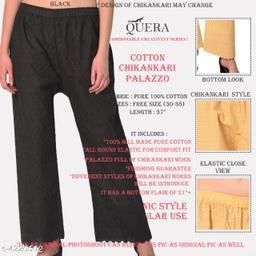 Alka Fancy 100% cotton Women's Palazzos