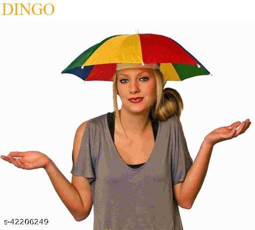 Hat Umbrella for kids/Adults Hands Free Hat Umbrella for Women & Men School Going Boys Hat Cap Umbrella Protect from Sun & Rain