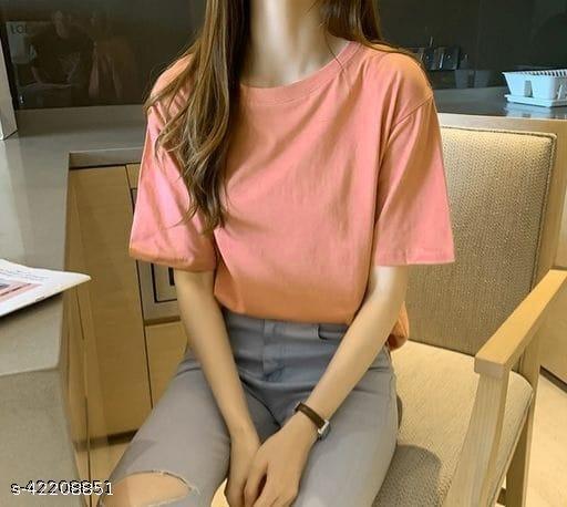 Women's Cotton Oversized Tshirt