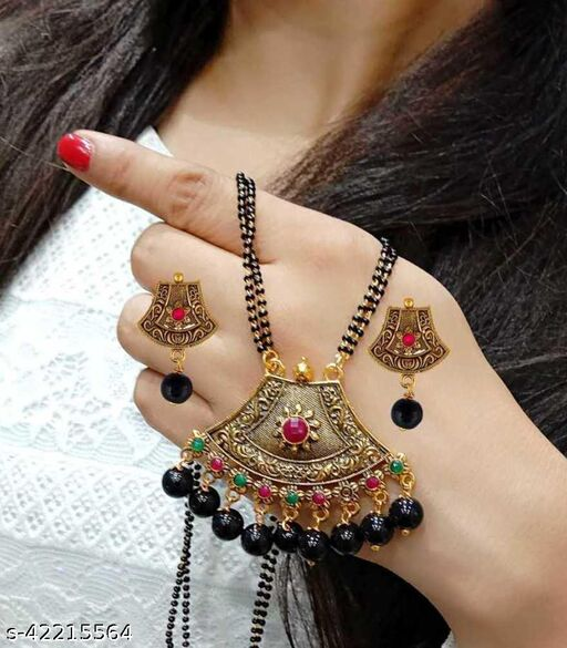 Trendy Ethinic Mangalsutra with chain for Women