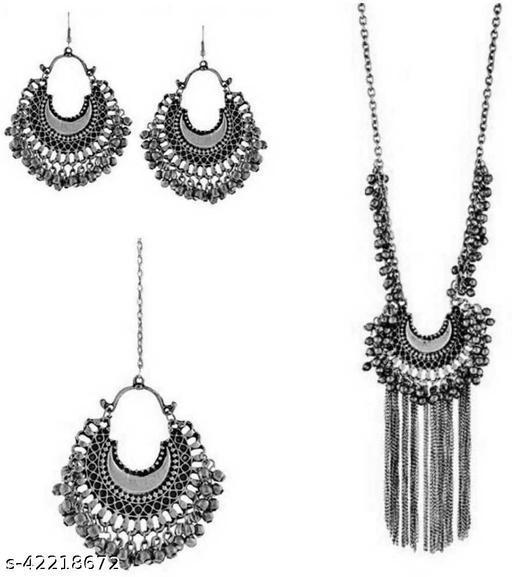 Foxy Trend Alloy Jewelry Set