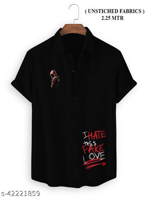 (Untiched) Fancy Fabulous Men shirt Fabric