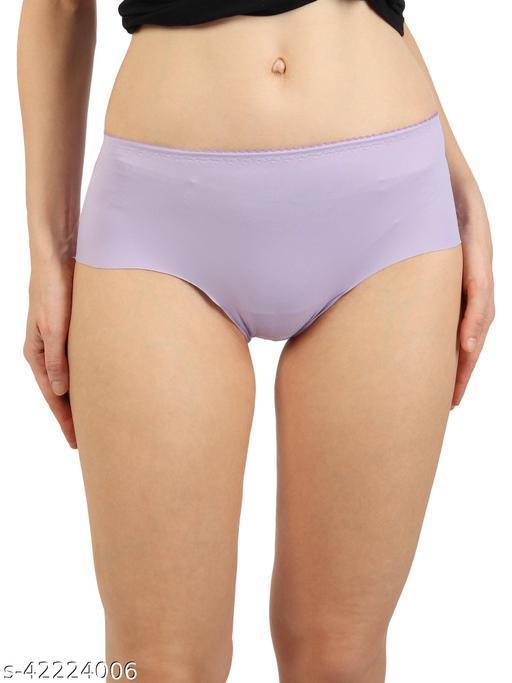 Women Bikini Purple Cotton Panty
