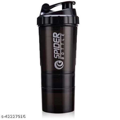 Zoonet ® 500ml Protein Shaker Bottle Spider Shaker Bottle Cyclone Shaker Gym Shaker Bottle  Gym Shaker Gym Bottle (Multicolor)