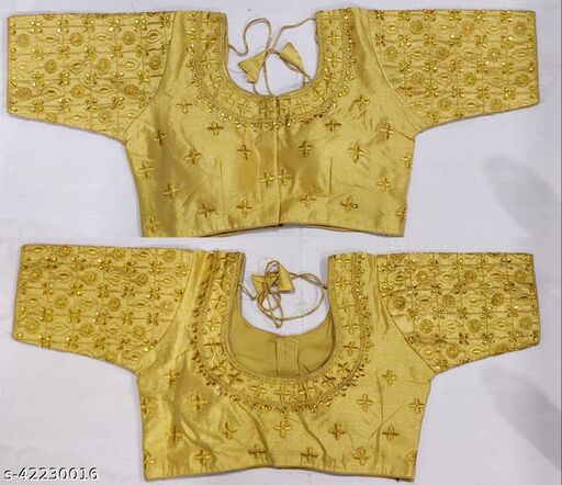 Readymade Fancy Embroidery Designer Blouses