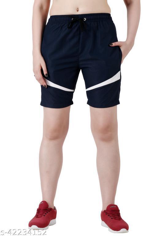 Women Regulat Fit Shorts