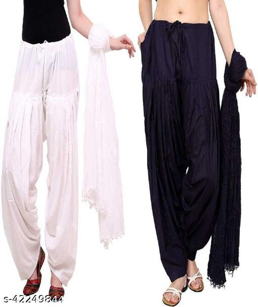 Attractive Patiala Combo pack with Dupatta