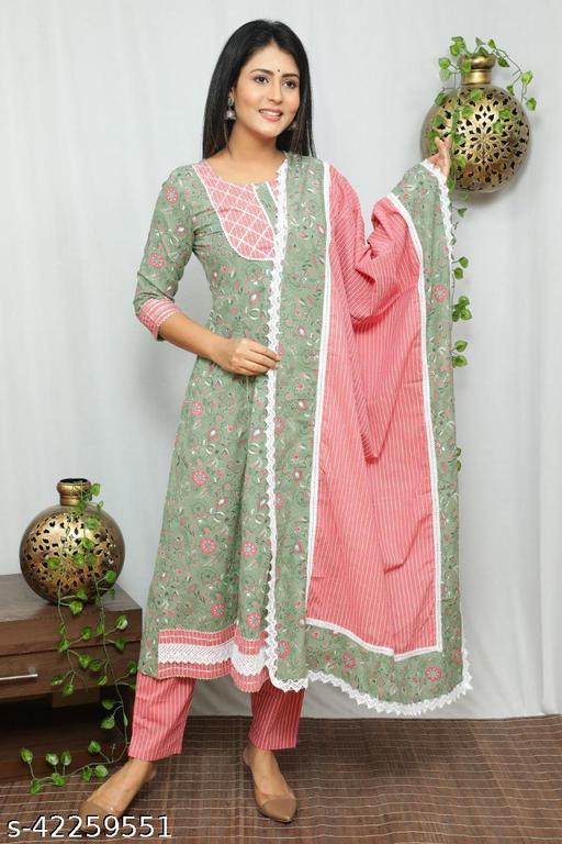 Alisha Drishya Women Dupatta Sets