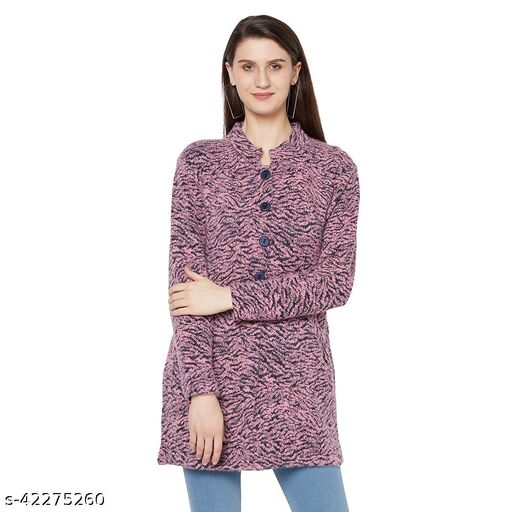 Womens Knitted Casual Sweater