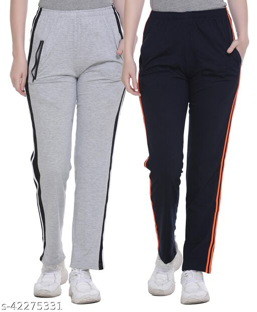 SHAUN Women Solid Nightwear Trackpant