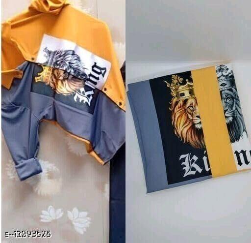 Stylish Designer Men Shirt Fabric