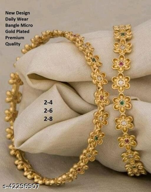 Delight daily wear bangles.