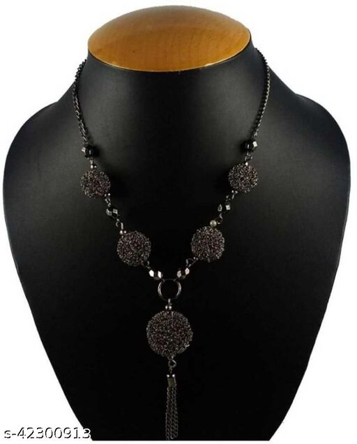 Trendy Black stylish necklace for Girls and Women