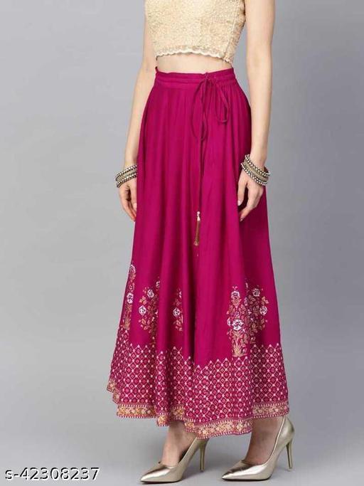 Trendy Petite Women Ethnic Skirts