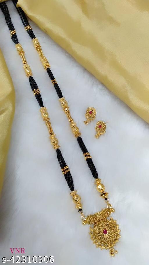 Golden mangalsutra