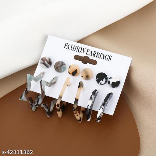 Fashion Acrylic Women Earring Set