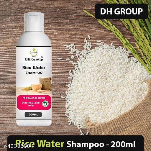 DH GROUP RICH WATER HAIR SHAMPOO FOR HELP TO HAIR DANDRUFF & HAIR GROWTH & HAIR SILK