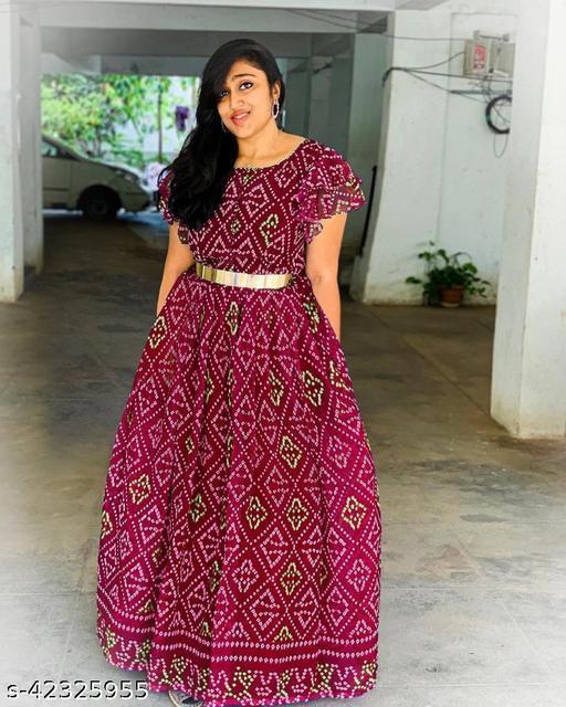 Stylish Retro Women Gowns