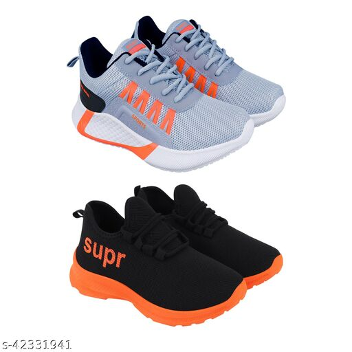 Trendy Sport Shoes For Kids Pack Of 2