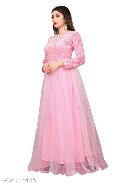 Classic Fashionable Women Lond Gown