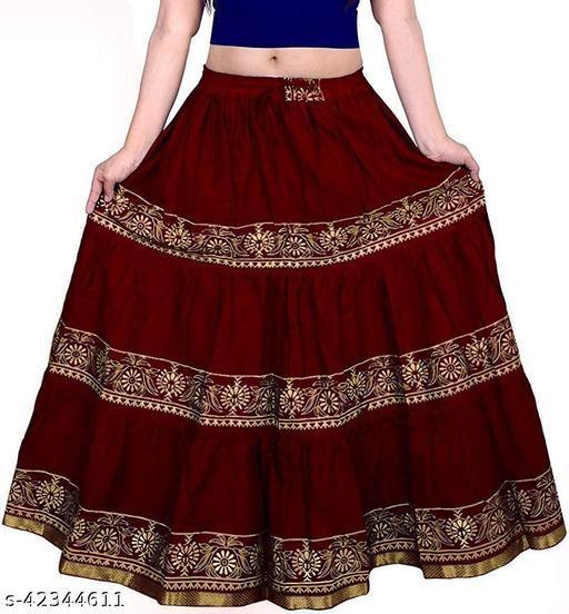 Aakarsha Pretty Women Ethnic Skirts