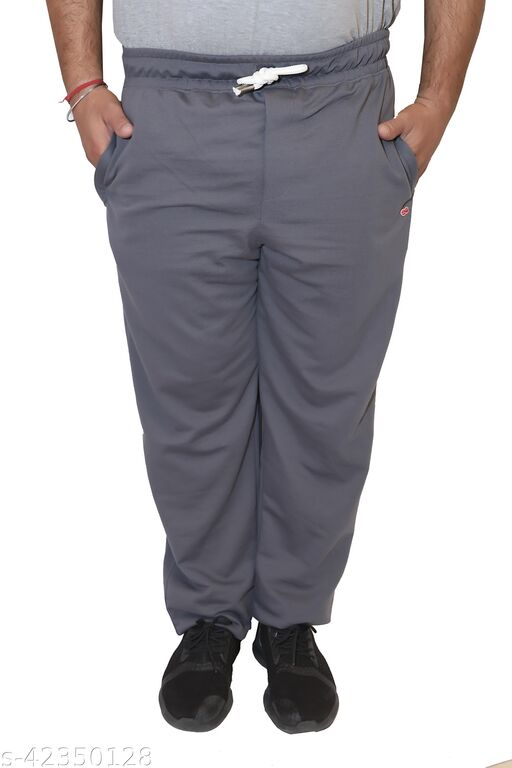 Lead & Ride Summer Solid Cotton Polyster Lowers For Men's
