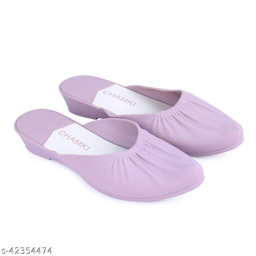 WMK Pink Casual Belly | Comfortable Light Weight Bellies for Girls and Women