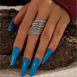 Bohemia Punk Trend Retro Feather Ring for Women