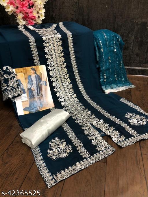 Aagam Drishya Semi-Stitched Suits