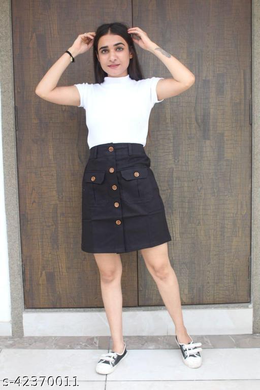 Casual Modern Women Western Skirts